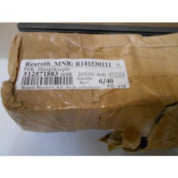 Rexroth Japan Canada Rail R141530111 512571883