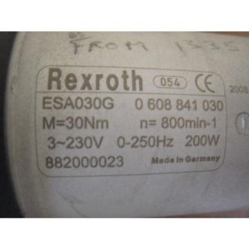 "REXROTH Australia china ESA030G 0608841030 3/8"" RIGHT ANGLE NUTRUNNER ERGOSPIN GRIPLINE USED"