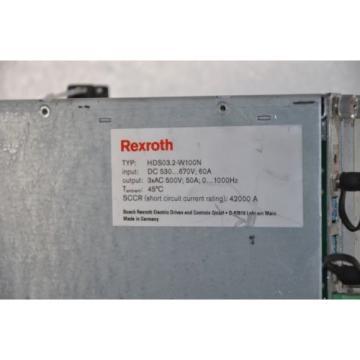 Rexroth Egypt Germany Indramat AC-Servo Controller HDS03.2-W100N-HS32-01-NW ,50A, 0-1000Hz,
