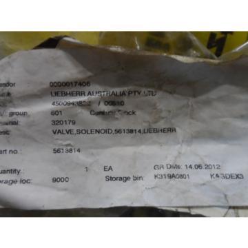 Rexroth Canada Canada Solenoid Valve R900511440  4WH6D5X / SO131 LIEBHERR 5613814