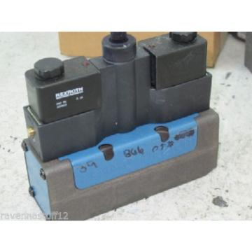 Rexroth Australia Canada GS-020052-00909 24VDC Solenoid Valve (New no Box)
