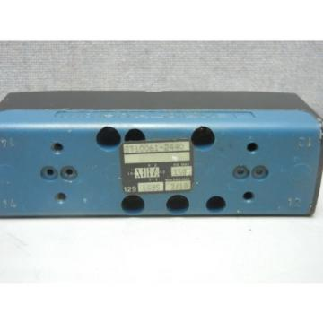 REXROTH China Italy CERAM GT10061-2440 USED PNEUMATIC VALVE GT100612440