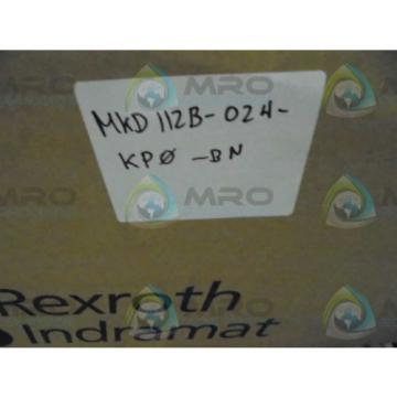 REXROTH Germany Singapore INDRAMAT MKD112B-024-KPO-BN MAGNET MOTOR *NEW IN BOX*