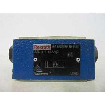 Rexroth Australia Canada R900727969 Z2S 6-1-64/60 -unused-