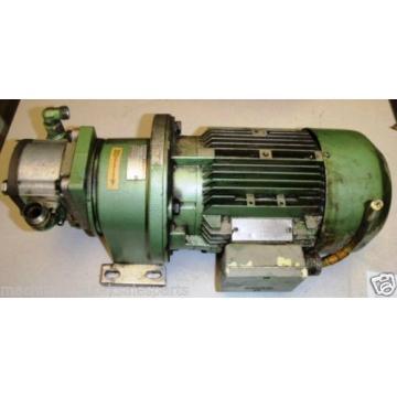 Siemens Australia Canada Rexroth Motor Pump Combo 1LA5090-4AA91 _E9F58_ No Z # _ 1LA50904AA91