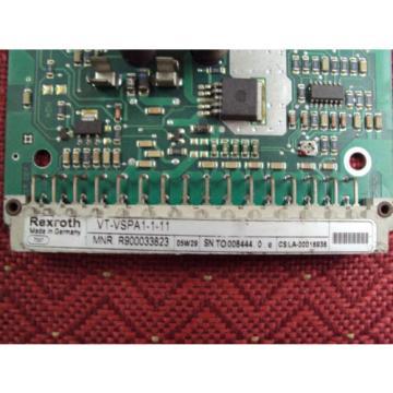 Rexroth France Germany VT VSPA1 1 11 Amplifier Card Electronic Circuit Board VTVSPA1111