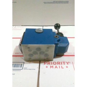 REXROTH Canada Germany MANUAL DIRECTIONAL VALVE MODEL 4WMM-10 J1X/14W06-7362