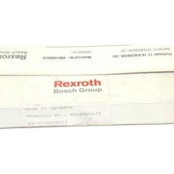 NIB Singapore Japan REXROTH BOSCH R961000472 SEAL KIT LC16A/B/DB/DR.-7X/