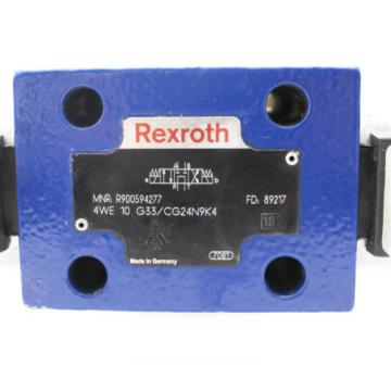 Rexroth Italy Japan Bosch Hydraulikventil 4WE 10 G33/CG24N9K4