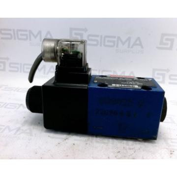 Rexroth Italy USA R978024428 Directional Solenoid  Valve 4WE6JA62/EW110N9K4/62