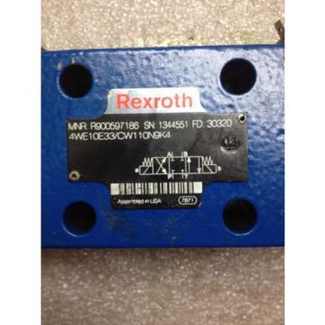 (N2-3) China Japan REXROTH R900597186 DIRECTIONAL VALVE