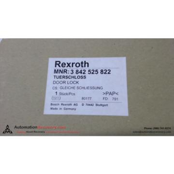 REXROTH France India 3 842 525 822 DOOR LOCK, NEW #137628