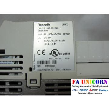 [Bosch Greece china Rexroth] CML20.1-NP-120-NA-NNNN-NW IndraControl L20 + memory Fast Shippin