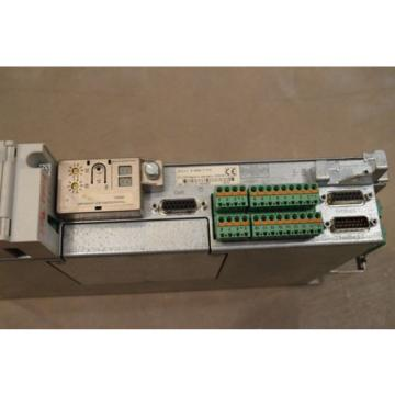 REXROTH Egypt Russia INDRAMAT DKC11.3-040-7-FW WITH FIRMWARE MODULE FWA-ECODR3-SMT-02VRS-MS