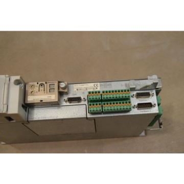 REXROTH Japan Egypt INDRAMAT DKC11.3-040-7-FW WITH FIRMWARE MODULE FWA-ECODR3-SMT-02VRS-MS
