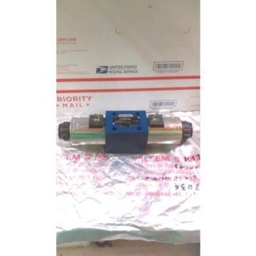 Rexroth Canada France R900589988 Hydraulic Control Valve 982115-4WE10J33/CG24N9K4 24VDC VGC!!