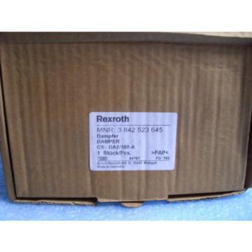 Rexroth Germany Korea  Dämpfer  DA2/100-A  3842523645