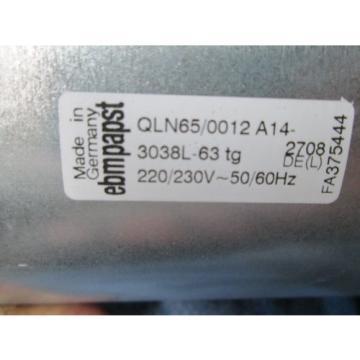 REXROTH France France INDRAMAT LE3-230  BLOWER FAN QLN65/0012 A14-2708  NIB