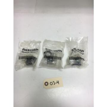 New Dutch USA Rexroth P-026078-00001 DIN Solenoids 1/2 Conduit (Qty Of 3) Warranty!