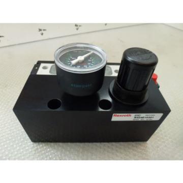 Rexroth Singapore Japan Compressed air unit R424E10391 with Pressure reducer 5/2-Wege 0820058761