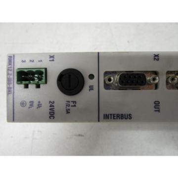 INDRAMAT/REXROTH Korea china RMK12.2-IBS-BKL INTERBUS COMMUNICATION MODULE - USED-FREE SHIP