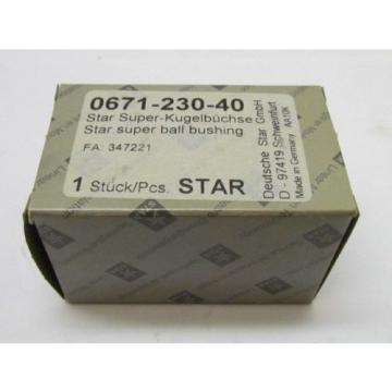 Star Canada USA 0671-230-40 Super Ball Bushing Rexroth