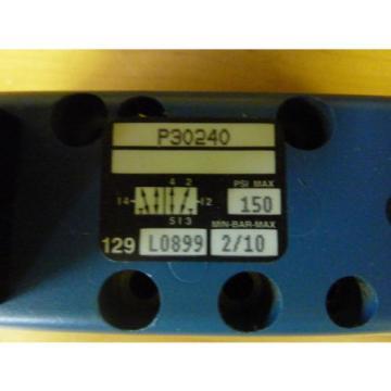 Rexroth Canada Russia Ceram P30240 Pneumatic Valve 150 PSI Max Coil 24VDC (11552)