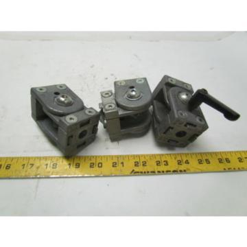 Bosch Italy china Rexroth 3 842 502 680 aluminum framing multi-angle connectors lot of 3