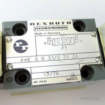 Rexroth China Mexico Wege-Schieberventil 4WE 6 G 33/G 24 Z4 GEB