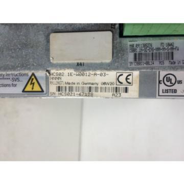 BOSCH Canada Mexico REXROTH IndraDrive HCS02.1E-W0012-A-03-NNNN