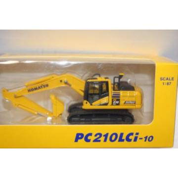 KOMATSU PC210LCi-10 1:87 EXCAVATOR Official Limited Product from Japan