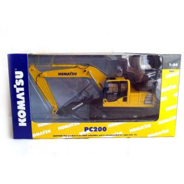 NIB 1:50 Model Komatsu PC200 Drill DieCast model