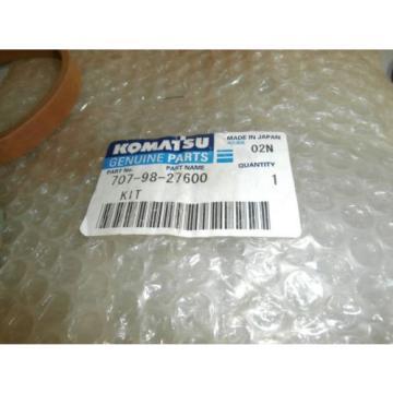 New Genuine Komatsu 707-98-27600 Seal Kit for PC100-5 Bucket OEM *NOS*