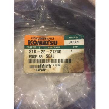 New OEM Genuine Komatsu PC Series Excavator Seal 205-25-21280 Warranty Fast Ship