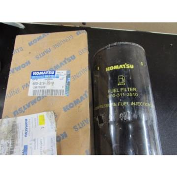 NOS NEW GENUINE KOMATSU HYDRAULIC FILTER 600-319-3510