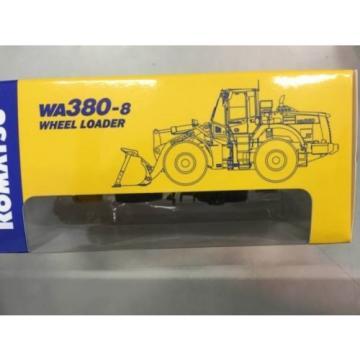 1/87 Komatsu Official WA380-8 Wheel Loader diecast model rare item
