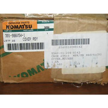 Komatsu Cover Assembly 381-986054-1