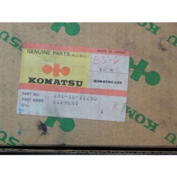 Komatsu 281-16-11290 Hydraulic Oil Filter OEM NIB