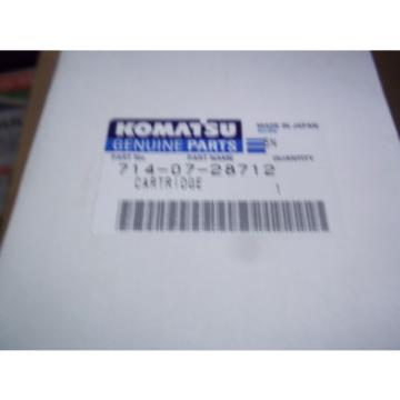 Genuine  Komatsu  Hydraulic Filter  Part Number 714-07-28712