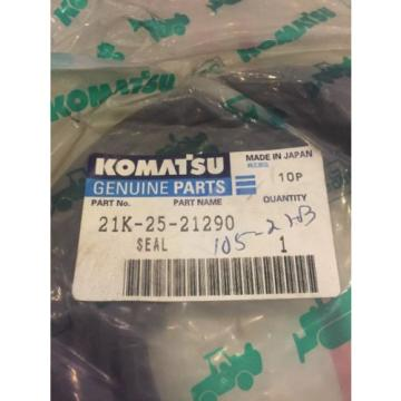 New OEM Genuine Komatsu PC Series Excavator Seal 205-25-21290 Warranty Fast Ship