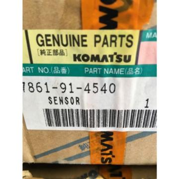 7861-91-4540 Genuine Komatsu Water Level Sensor