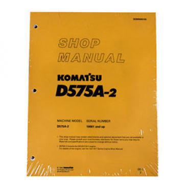 Komatsu D575A-2 Service Repair Workshop Printed Manual