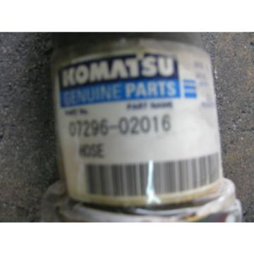 Komatsu Hose Part # 07296-02016