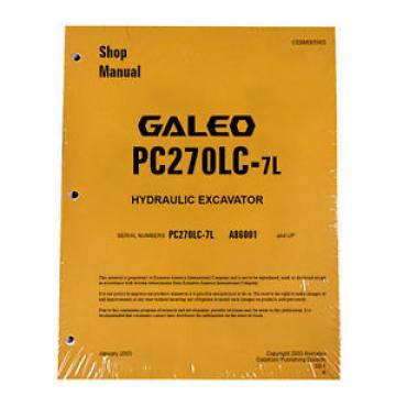 Komatsu Service PC270LC-7L Excavator Repair Manual NEW