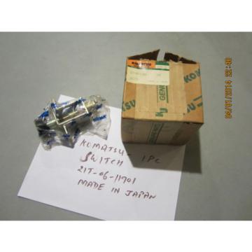 Komatsu 21T-06-11901 Switch Genuine