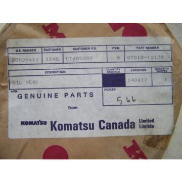 Komatsu D80-85-150-155 Final Drive Seal - Part# 07013-10120 - Unused in Package
