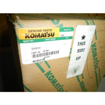 New Genuine Komatsu 1252017H1 Air FIlter Element   *NOS