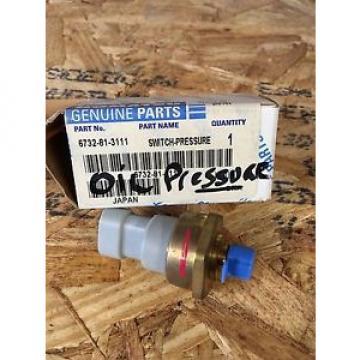 6732-81-3111 Genuine Komatsu Oil Pressure Sensor