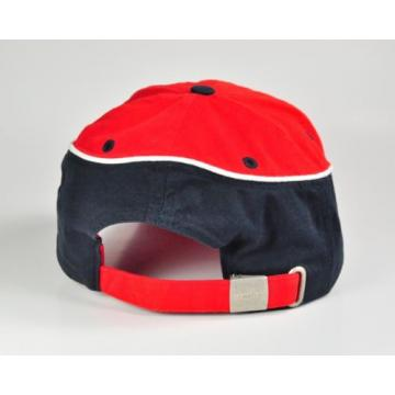 KOMATSU BASEBALL HAT RED WHITE & BLUE CAP CONSTRUCTION INDUSTRIAL