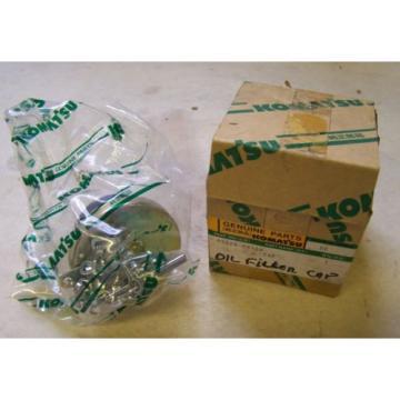 Komatsu D92-D140-D170 Oil Filler Cap - Part# 07025-00100 - Unused in Package